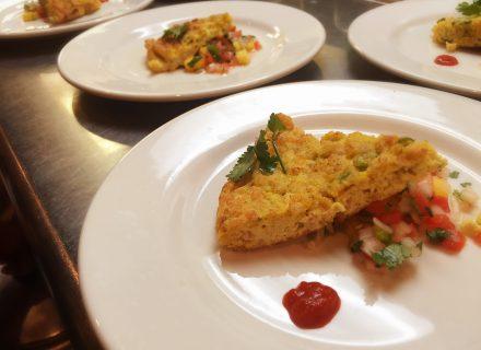 Pork Thai omelette