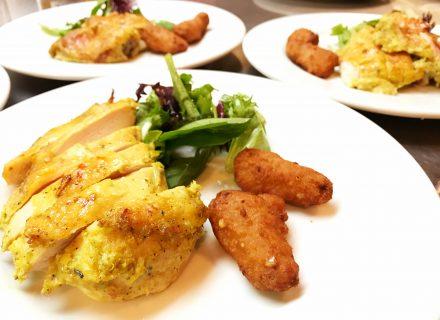 Lemongrass roasted chicken thigh
